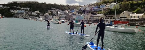 Paddle Board experience up Looe River