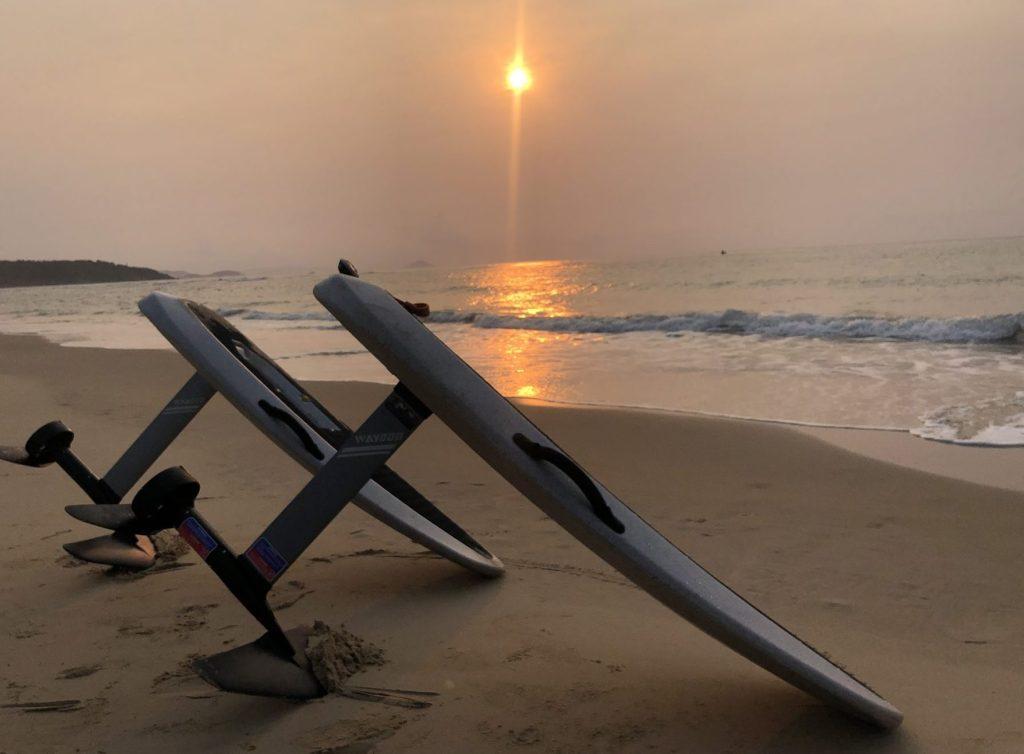 Waydoo Flyer One sunset