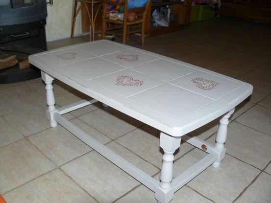 Relooker Table Basse Avec Carrelage Venus Et Judes