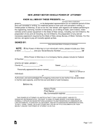Nj Division Of Motor Vehicles Forms - impremedia.net