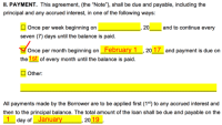 Free Loan Agreement Templates - PDF | Word | eForms  Free ...