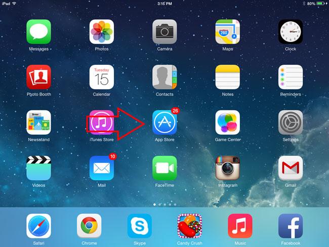 How-to-install-chikka-messenger-app-on-iPad-or-iPad-Mini-Step-1