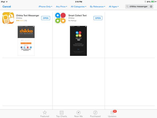 How-to-install-chikka-messenger-app-on-iPad-or-iPad-Mini-Step-4