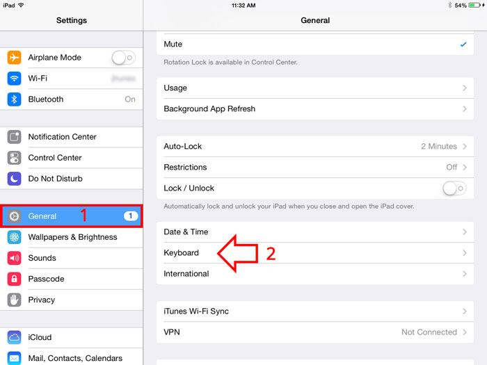 turn on or off auto correct on iPhone, iPad and other iOS device-step-2