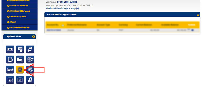 BDO Online-Pay-Smart-Bill-Online-Step-2