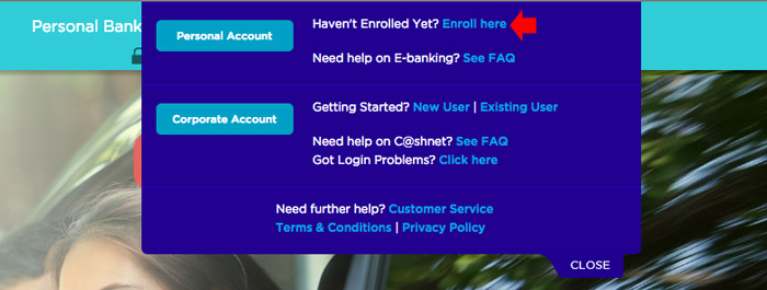 PNB Online banking