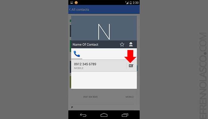 How-to-send-Text-message-on-save-android-contacts-2