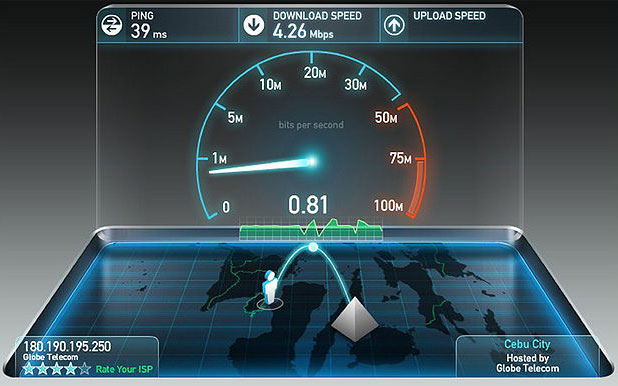 Internet Speed Test Step 2