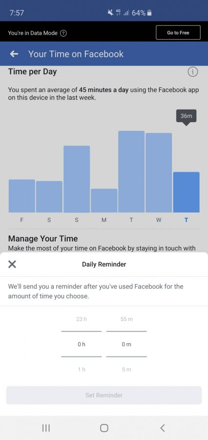 Need to know your time spent on Facebook everyday?
