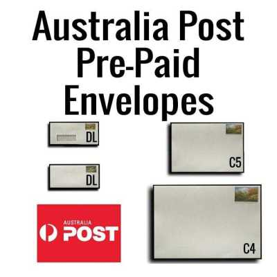 Australia Post PrePaid envelopes1