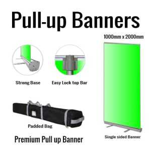Premium Pull-up Banner 1000x2000 single sided
