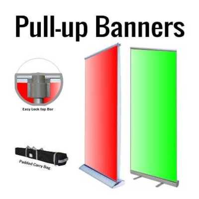 Premium & Deluxe Pull-up Banners