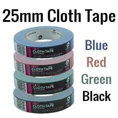 25mm Cloth Tape Mix colours