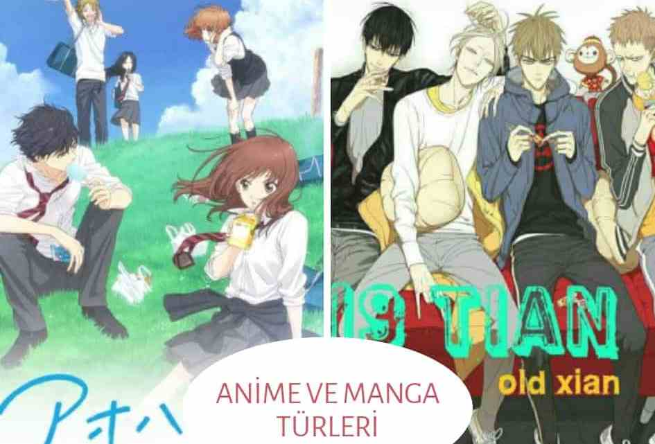 Anime ve Manga Türleri