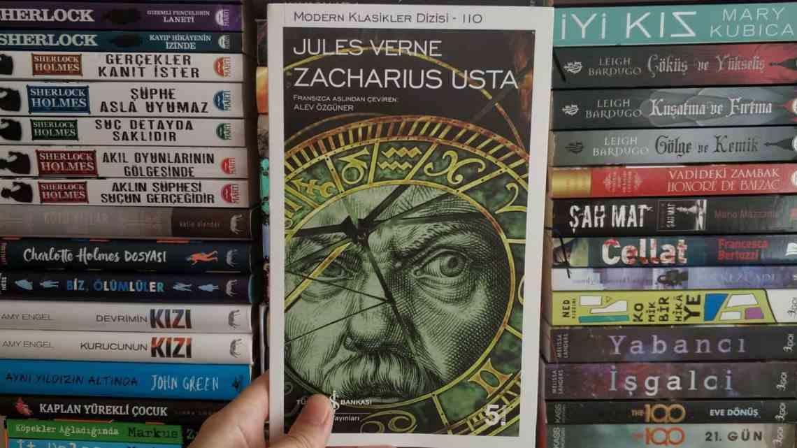 Zacharius Usta Kitap Yorumu   Jules Verne