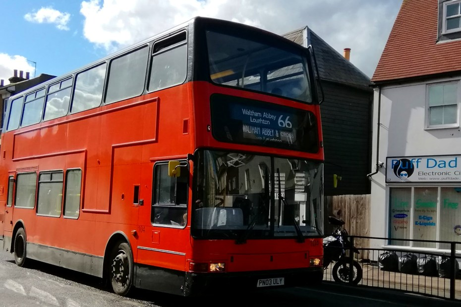 66 bus on Highbridge Street