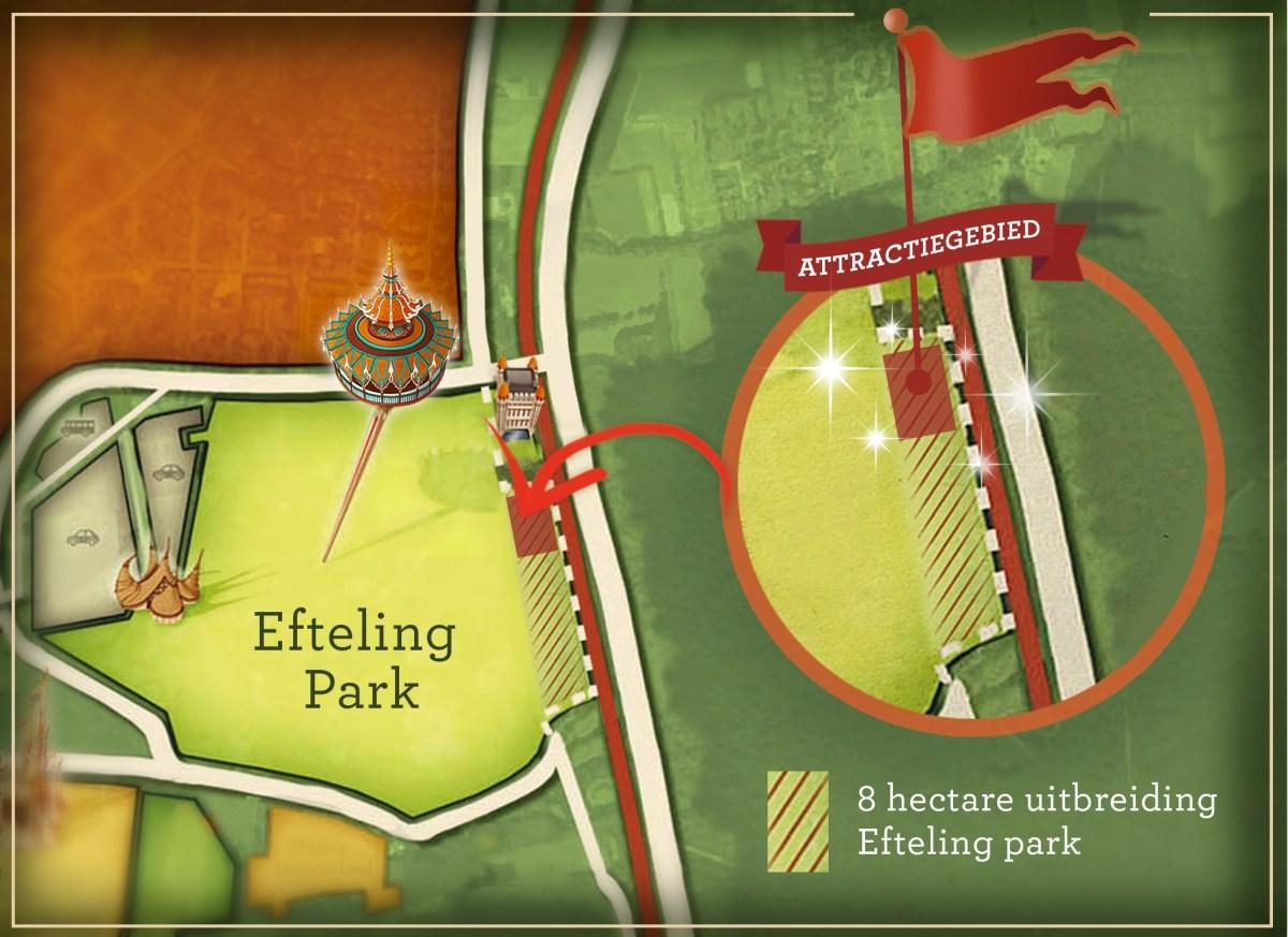 Efteling wil het park uitbreiden en in 2020 nieuwe attractie openen