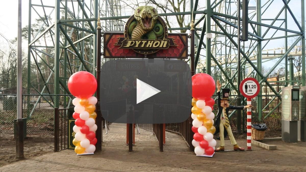 Videoverslag feestelijke opening Python