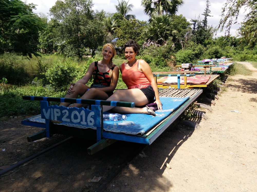 Bamboo train, 4 million bats, beach day and the killing fields - Battembang, Sihanoukville and Phnom Penh (3/6)