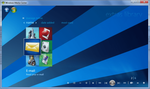 6 1 Customise Windows 7 Media Center (Part 3)