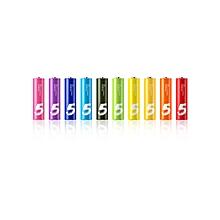 Mi Rainbow Batteries - AAA Size - 10 Pcs