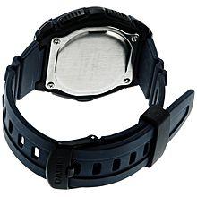 HDD-600C-2AVDF ساعة من البلاستيك المطاط - أزرق