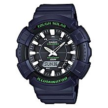 AD-S800WH-2AVDF Rubber Watch - Black