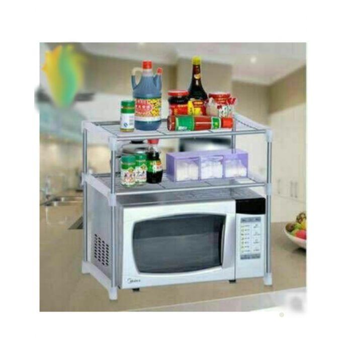 kitchen organizer granite countertop sale on microwave and 2 racks jumia egypt