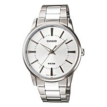 Mtp-1303d-7a Stainless Steel Watch – Silver