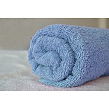 Cotton Face Towel - 50 x 100 cm - Light Blue