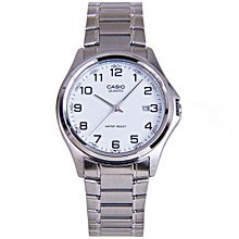 MTP-1183A-7B Stainless Steel Watch – Silver