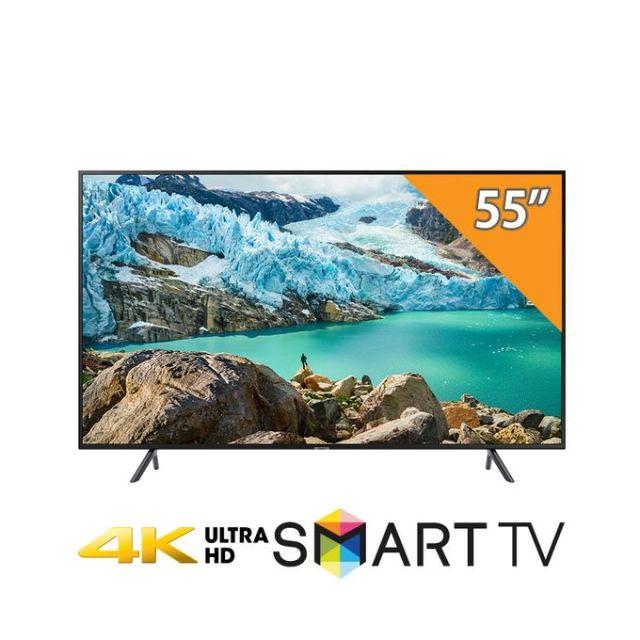 Samsung UA55RU7100 -تلفزيون سمارت مسطح 55 بوصة HDR 4K UHD