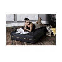 Sale on Sedra Convertible Chair & Ottoman - 2 Pcs - Black ...