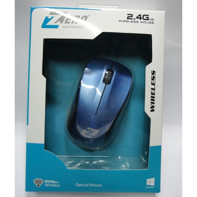 product_image_name-Zero-Wireless Silent Click Optical Mouse - Blue-1