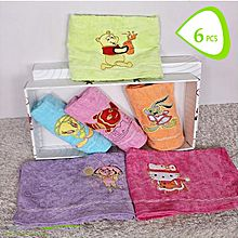 Face Towel - 6 Pcs