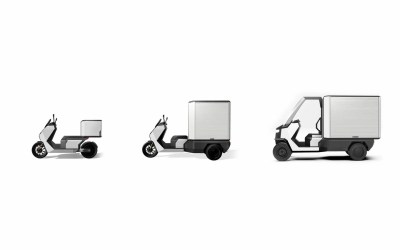The ecosystem of light electric vehicles for last-mile delivery