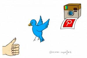 réseaux sociaux - Môman Imparfaite