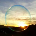 anonymat - bulle - coucher de soleil - le temps du renouveau