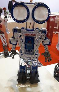 Robot Meccano salon Kidexpo 2016 - egalimère