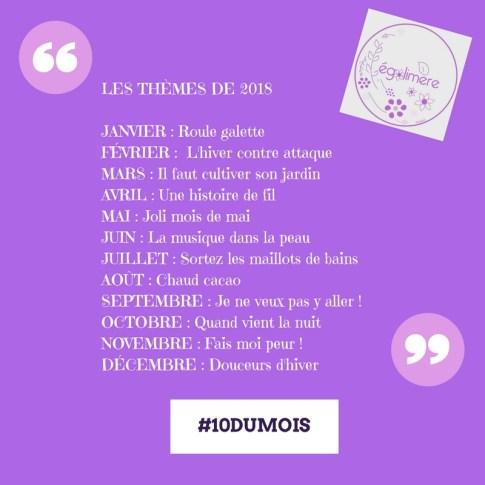 Thèmes 10dumois 2018 - Egalimère - Silent sunday 88