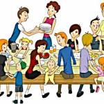 Grande et belle famille - Source http://www.clipartpanda.com/clipart_images/family-reunion-37284548