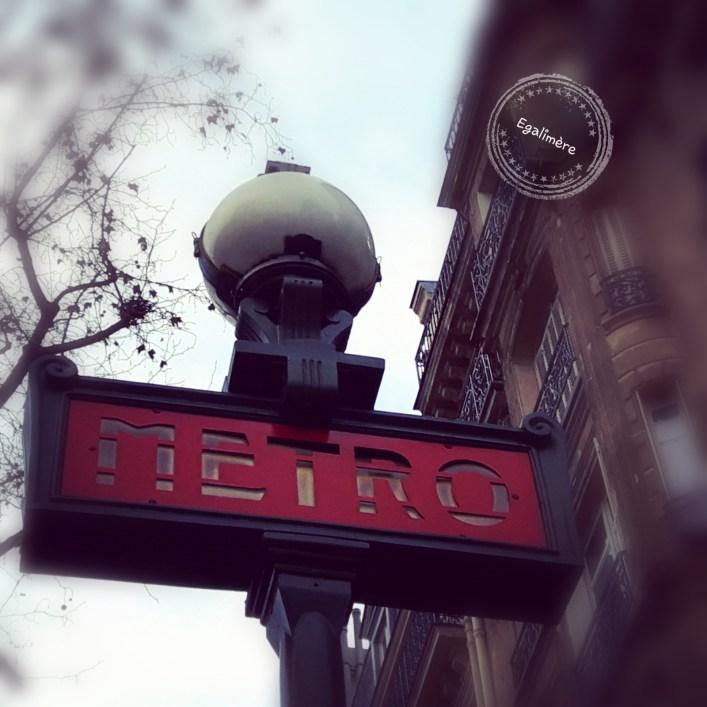 Métro - Paris - Silent Sunday 51 - Egalimère