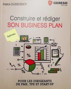 Construire et rédiger son business plan - couverture du livre