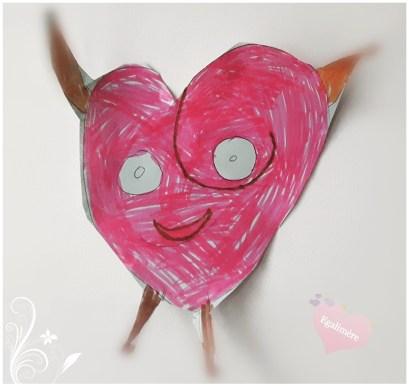 Bonhomme coeur - TiLoulou - Paradis - Amour