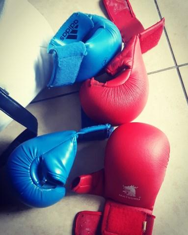 Gants de boxe - Boxe - Boxe Thaï - Silent Sunday 73