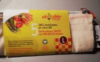 sacs réutilisables zéro déchet