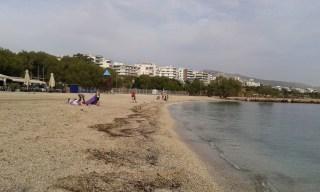 Plage d'Athènes