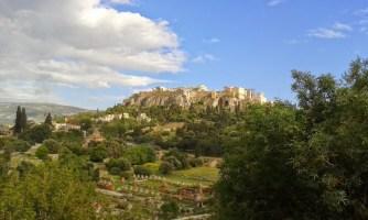 Athènes Agora antique