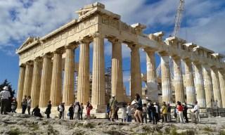 Athènes l'Acropole
