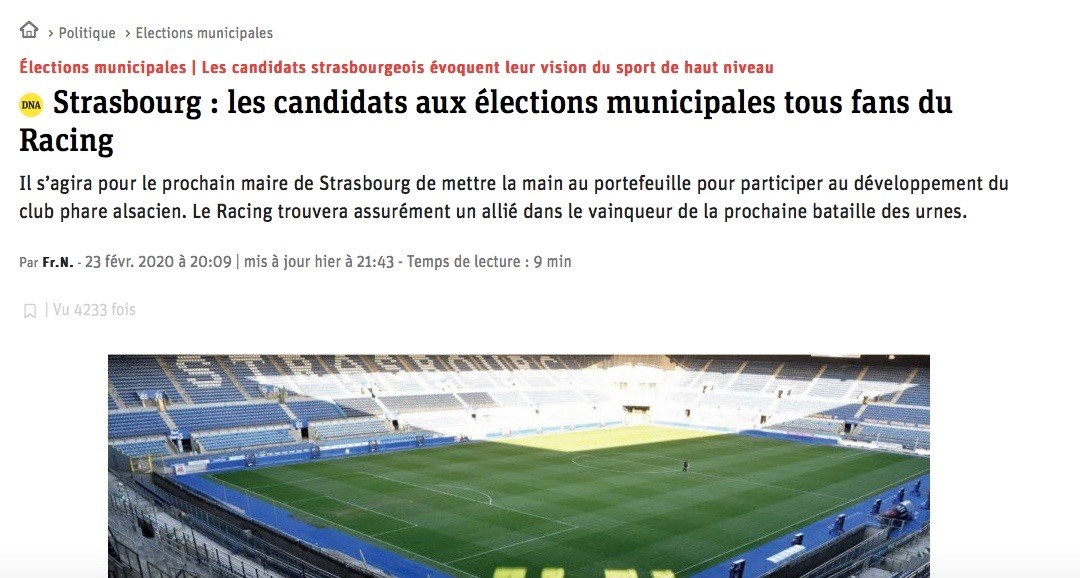 Article RCSA des DNA sans Patrick Arbogast